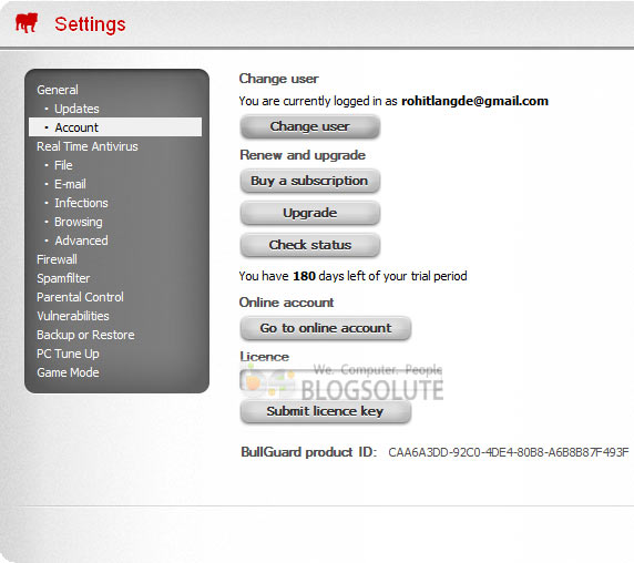 bullguard 2013 serial-key 6 months
