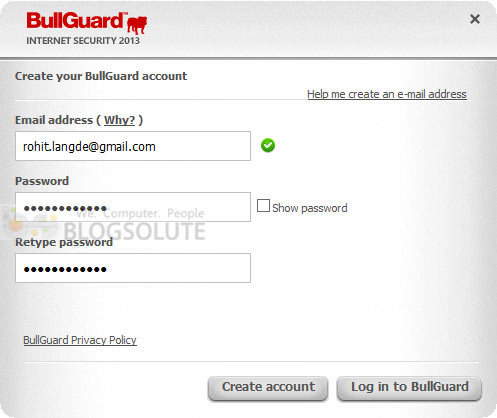bullguard internet security 2013 serial key