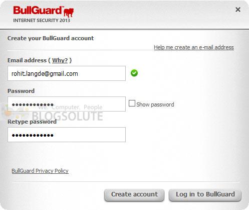 bullguard internet security 2013 serial key