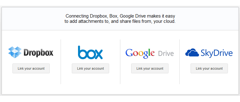 cloud storage authorization in Gmail