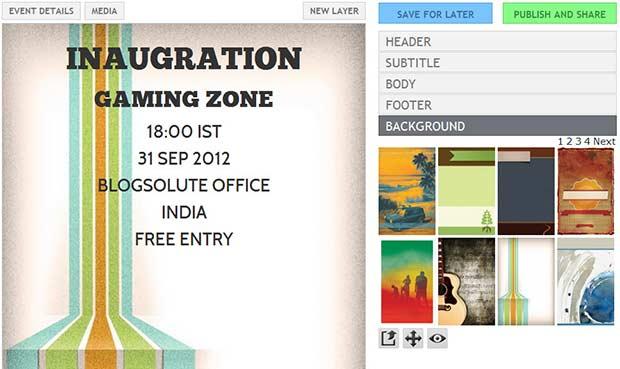 flyer lizard - create leaflets online
