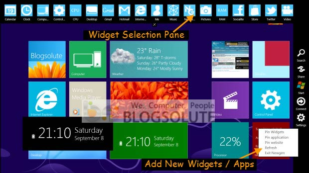 Home Screen windows 8 transformation pack