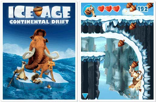 Ice Age 4 Java Game on Movie