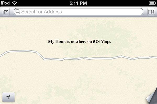 iOS 6 Maps Blunder