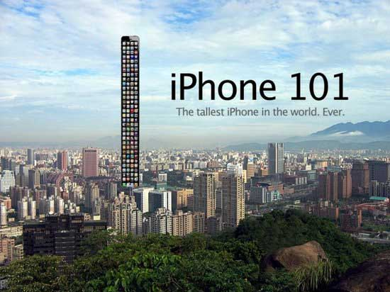 iphone 5 long tallest building