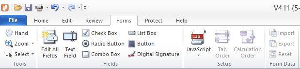 PDF Form Filling - Nitro Pro 8