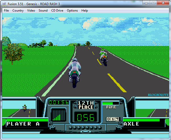 road rash game cheats free
