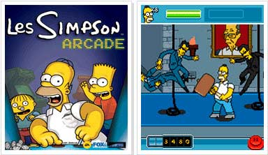 Simpson Arcade Java Game Download