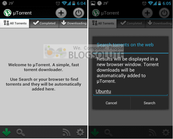 utorrent app for android