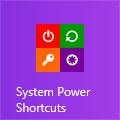 How to Add Shutdown/Restart/Hibernate/LogOff Tiles on Windows 8 Start Screen