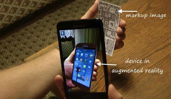 augmented reality android app