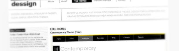 Dessign Free WordPress Themes