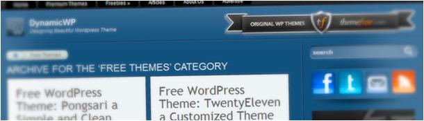 Dynamic WP Free WordPress Themes