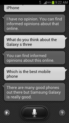 galaxy s4 s-voice