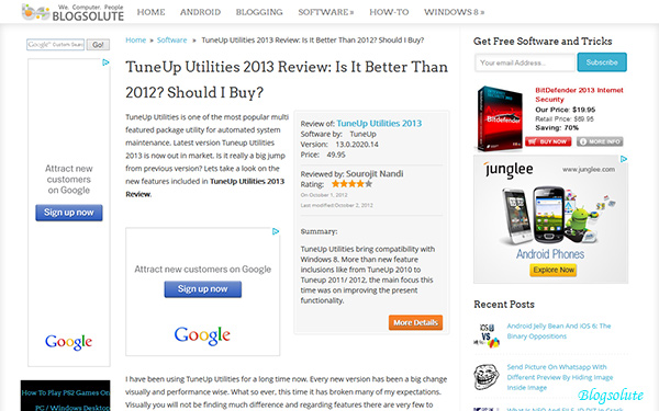 Mozilla Firefox Metro / Modern UI App For Windows 8 Review