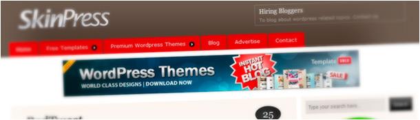 SkinPress Free WordPress Themes