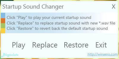 change windows 7 startup sound