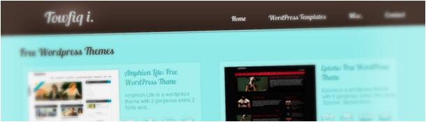Towfiqi Free WordPress Themes