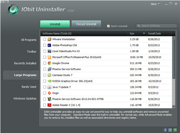 batch uninstaller windows software