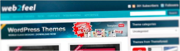 Web 2 Feel Free WordPress Themes