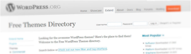 Official Free WordPress Themes