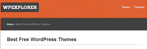 Wp Explorer Free WordPress Themes