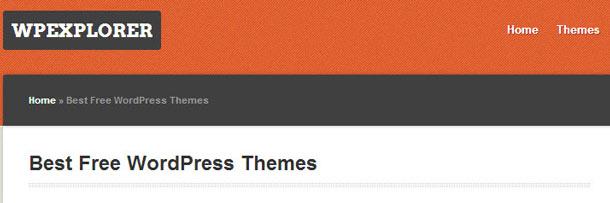 Wp Explorer Free WordPress Themes