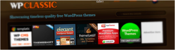 WP Classic Free WordPress Themes