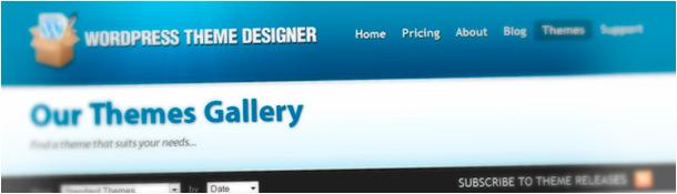 WP Theme Designer Free WordPress Themes