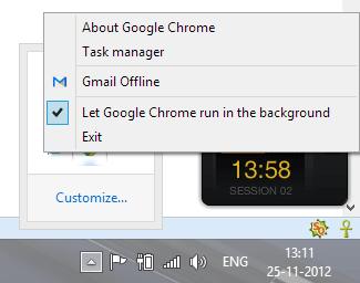 gmai offline tray icon