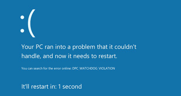 Windows 8 BSOD Fail