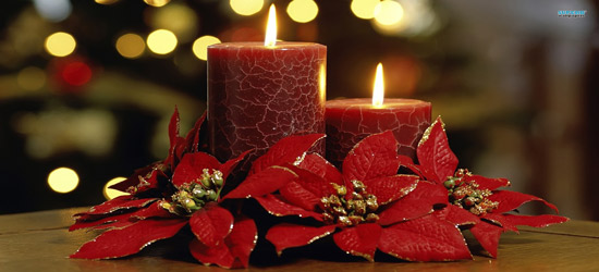 christmas candles hd kids wallpaper