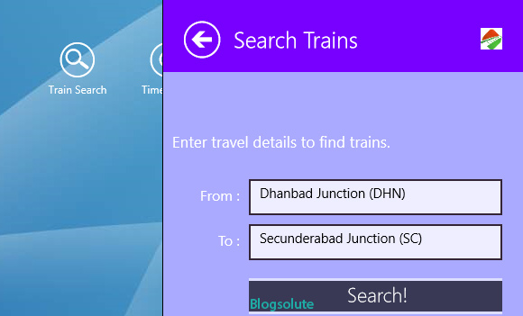 free indian railways app windows 8