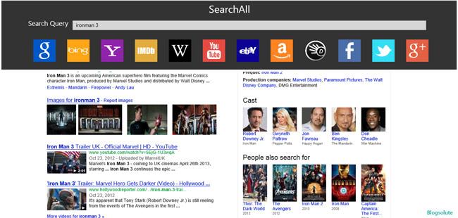 windows 8 web search app