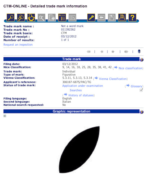 apple logo leaf trademark