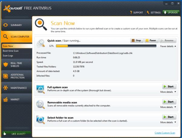 avast free antivirus 7 2013