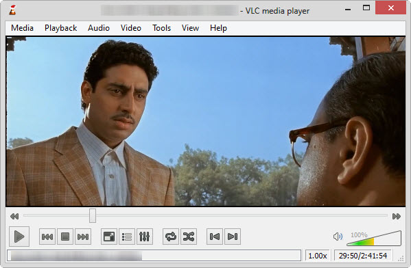 bluray on vlc player windows 8
