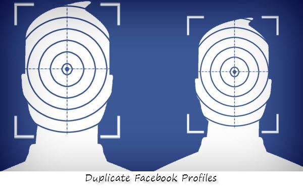 duplicate facebook profile