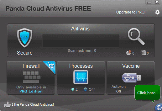 panda cloud antivirus free 2013