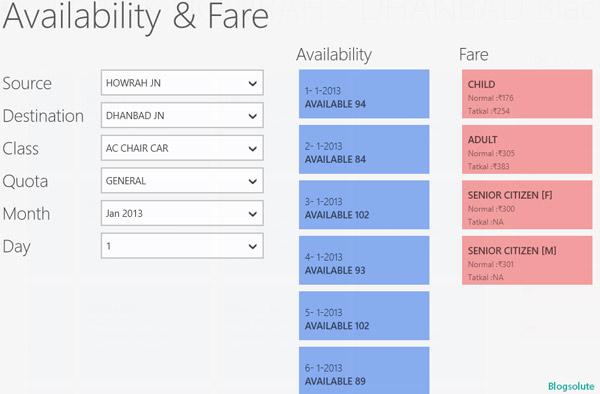indian railways windows 8 app