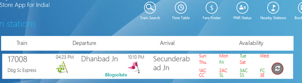 indian railways desktop app windows 8