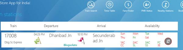 indian railways desktop app windows 8