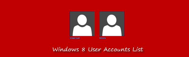 windows-8 user list