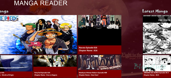 Windows 8 manga/comics reader app