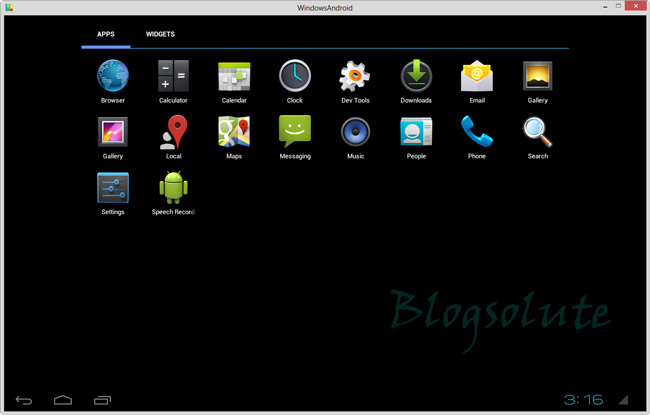 android ics 4.0.3 windows 7/8 emulator