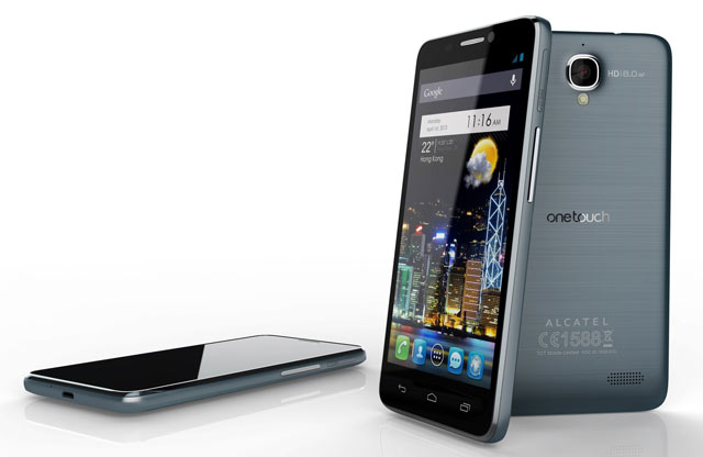 Worlds Thinnest Smartphone- Alcatel One Touch Idol Ultra