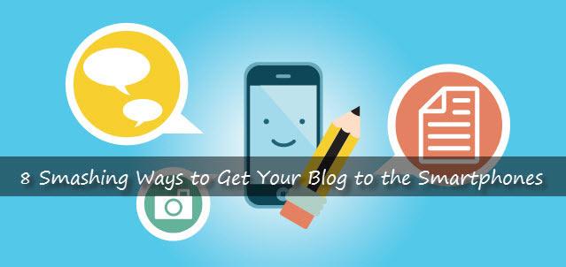 blog on mobile