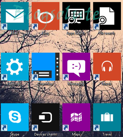 windows 8 desktop metro app