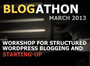 Blogathon 2013: India's First Blogging Workshop