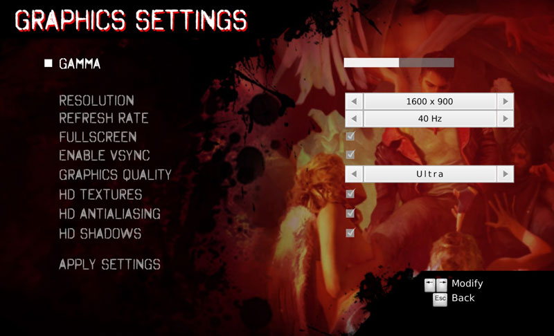 devil may cry graphics settings